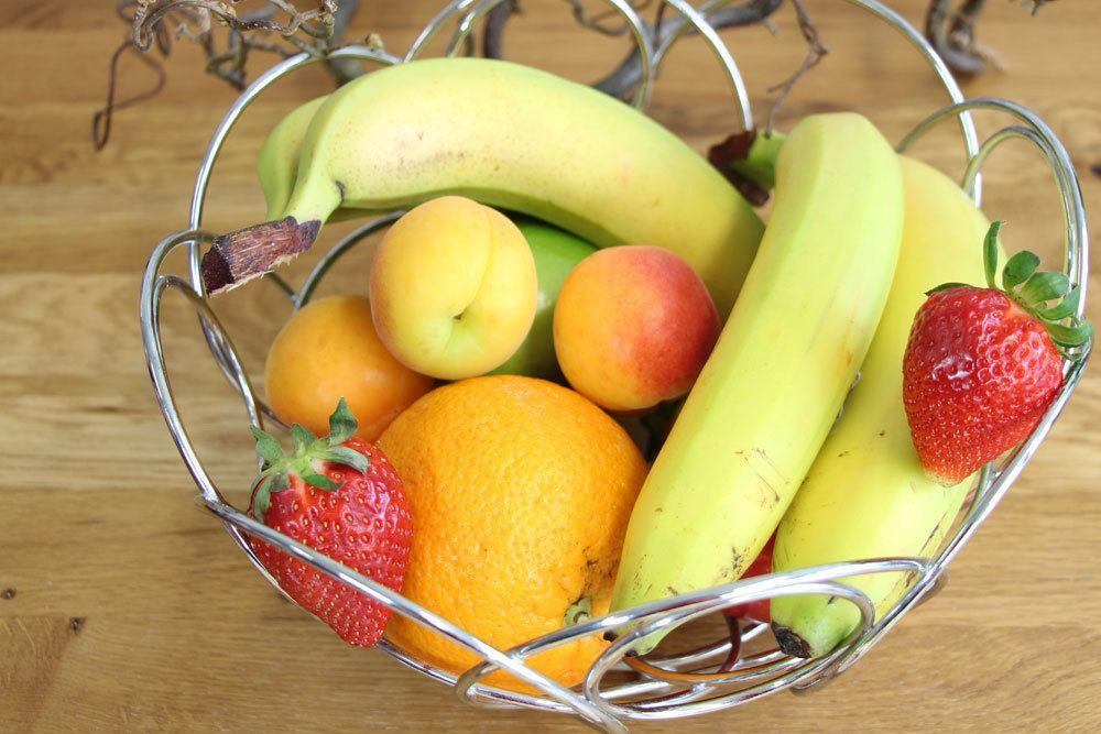 Obstkorb kann Obstfliegen anziehen