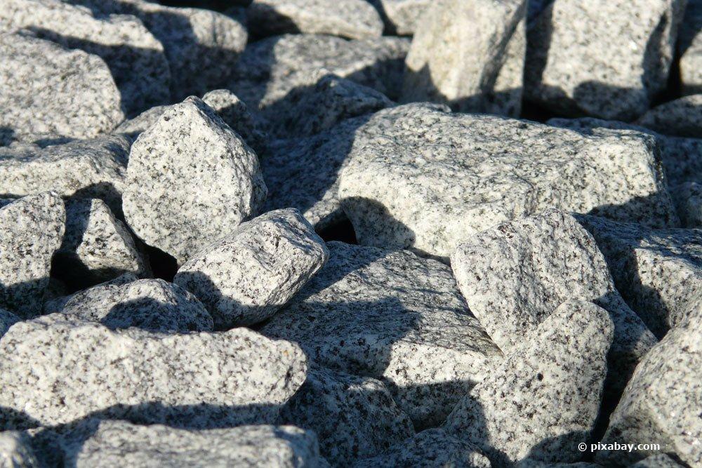 feuerfeste Natursteine, Granite