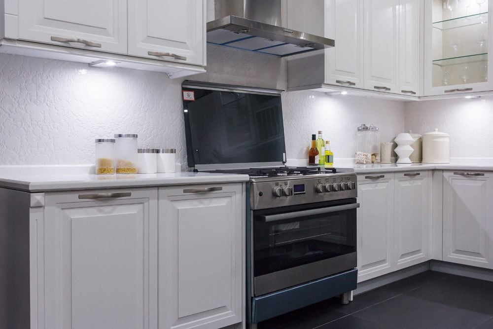 Küche und Backofen