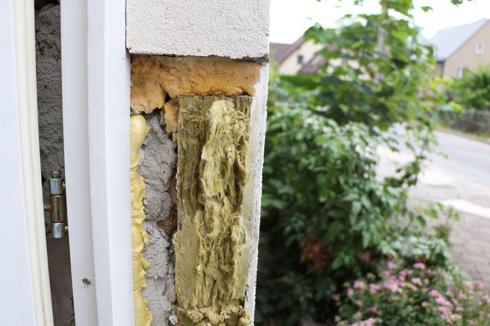 Schaden an der Fassade