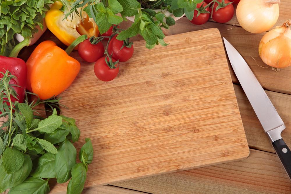Cardy Küchenbrett Gemüse