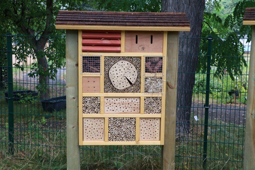 Insektenhotel als Winterquartier