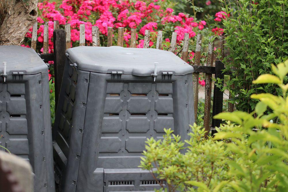 Kompost vor Nässe schützen