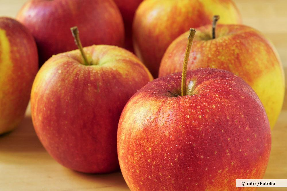 Braeburn ist eine saure Apfelsorte