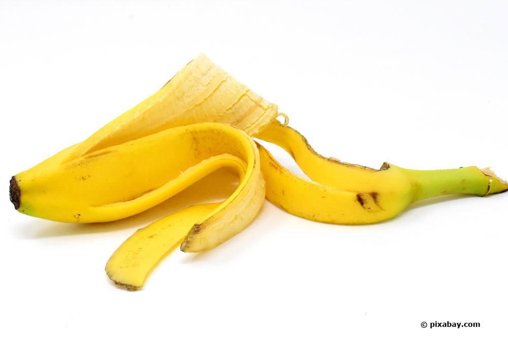 Bananenschale als Dünger
