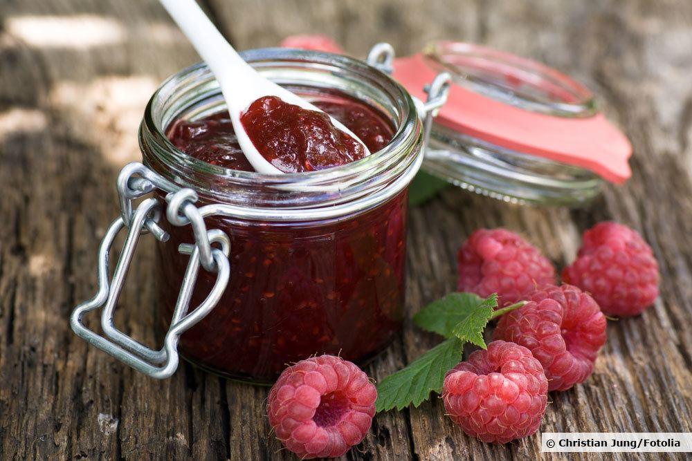 Marmelade aus Waldbeeren