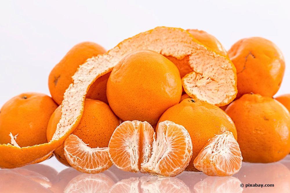 Mandarine. Citrus reticulata