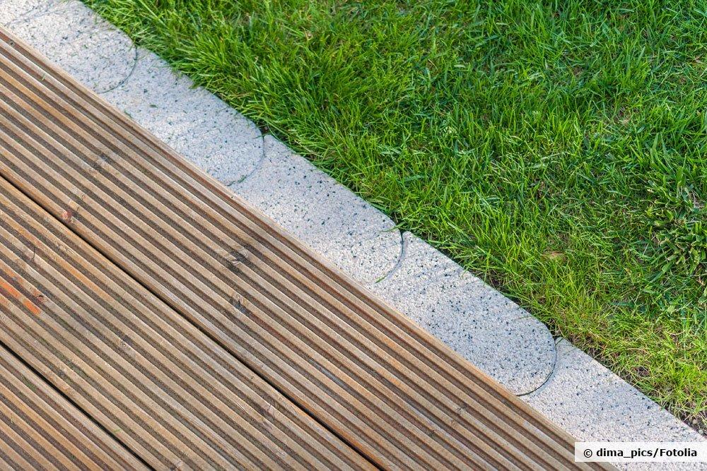 Gut bekannt Rasenkantensteine setzen: mit und ohne Beton verlegen | Anleitung JE23