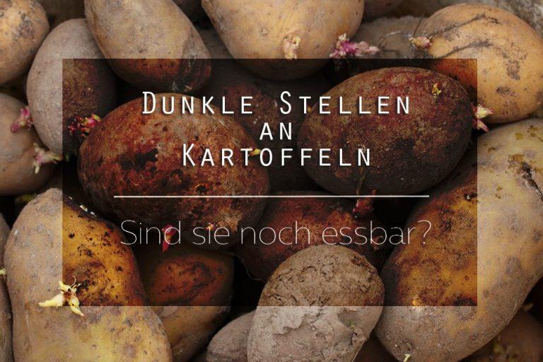 dunkle Stellen an Kartoffeln
