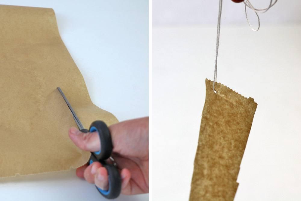 Klebefalle für Fliegen bauen