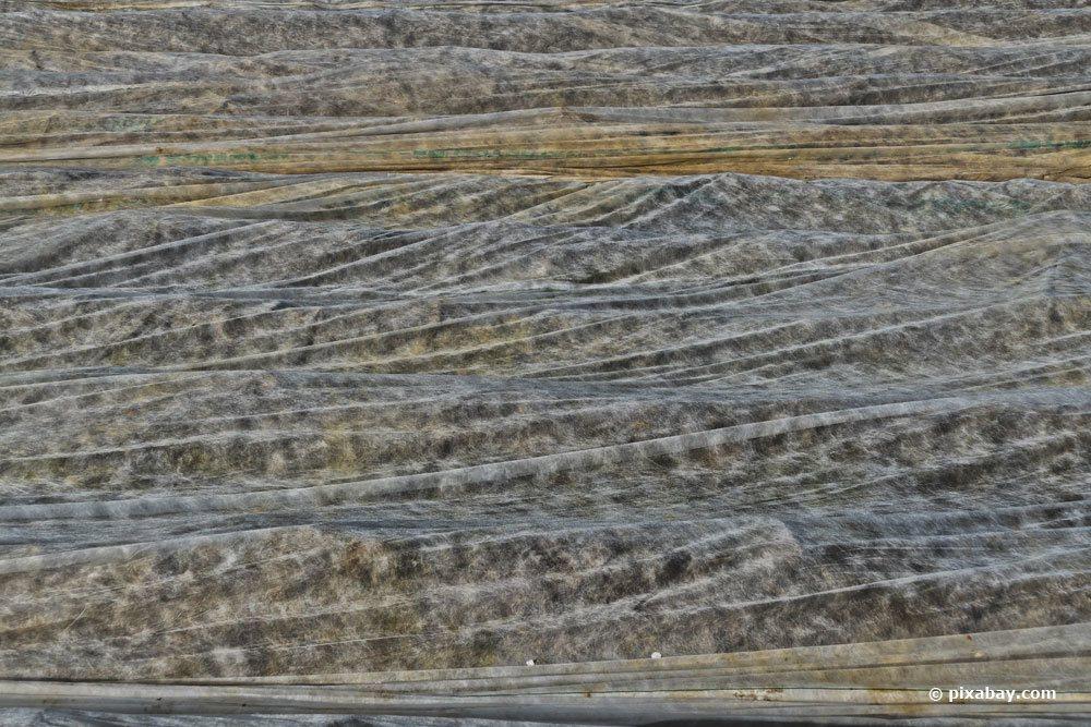 Vlies auf dem Boden