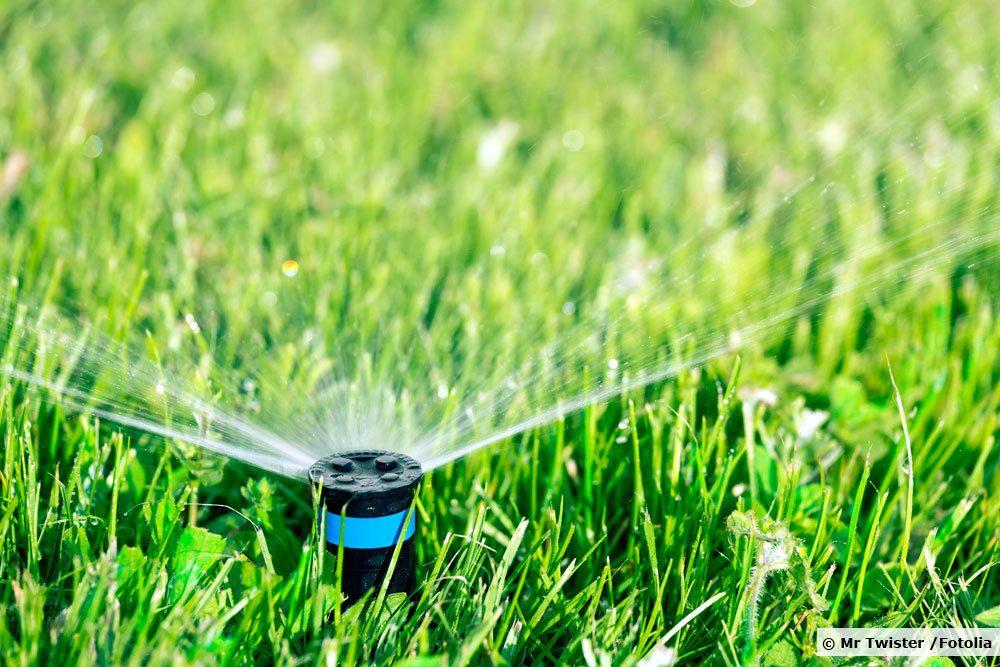 Versenkregner zur Gartenbewässerung