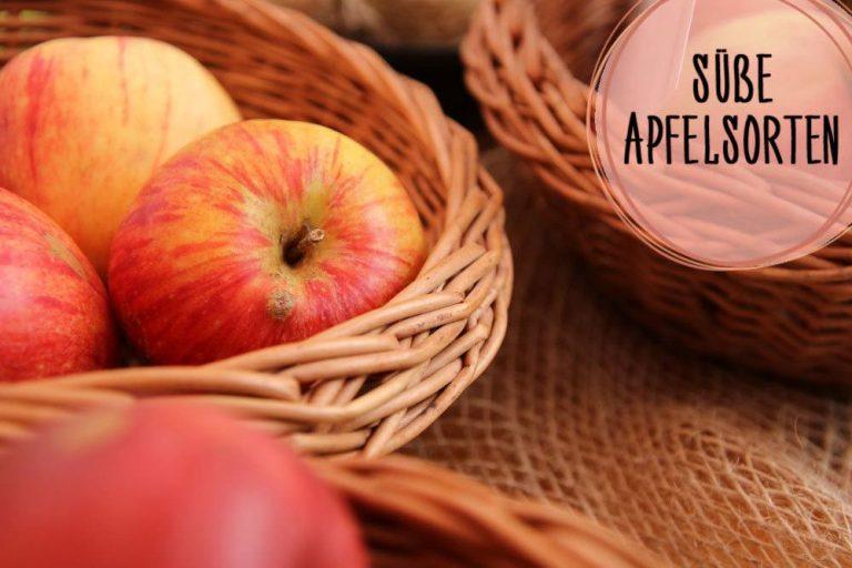 süße Apfelsorten