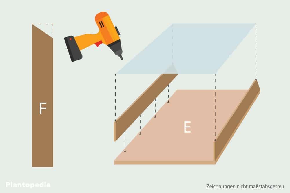 Zuluftschacht für Dörrautomat bauen