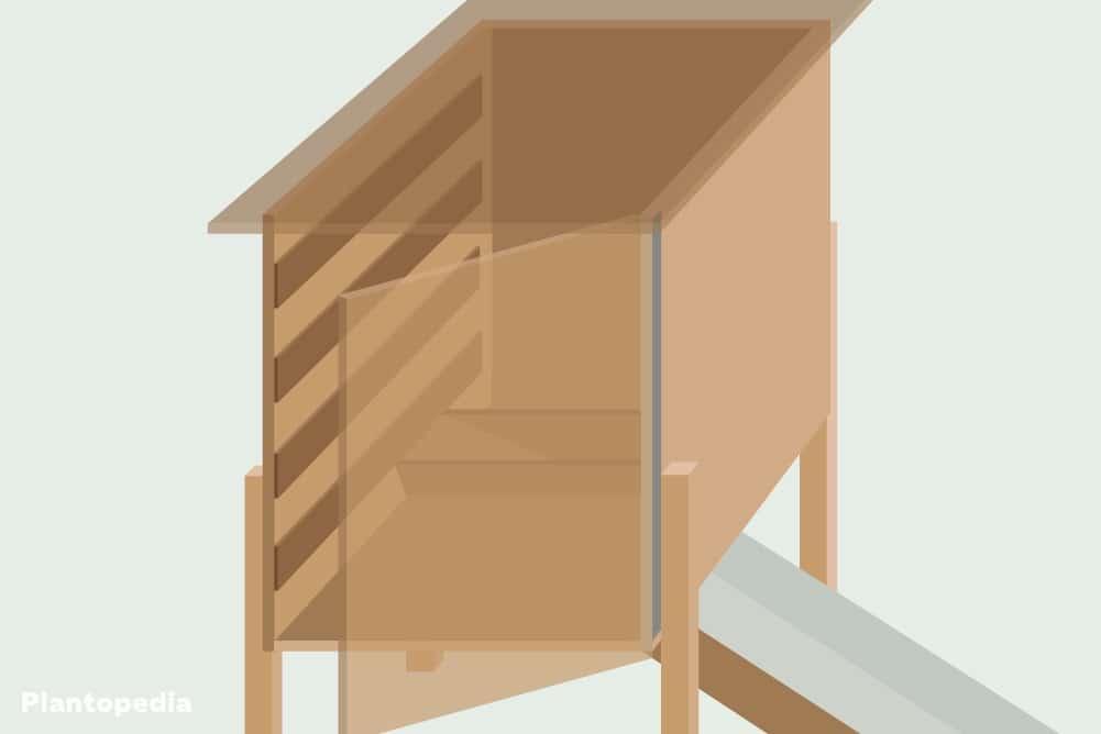 Schubladen in den Dörrautomat einbauen