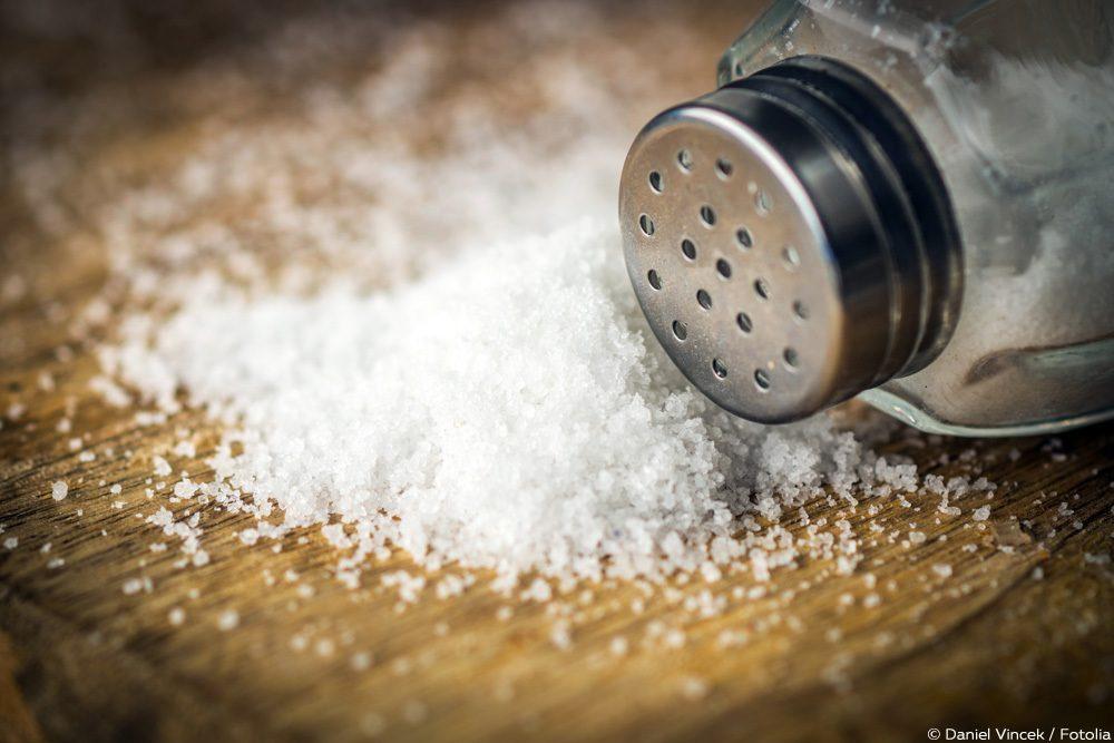 Salz gegen Maden