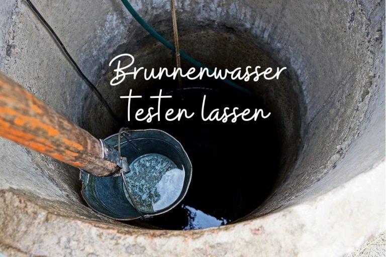 Brunnenwasser testen - Titel