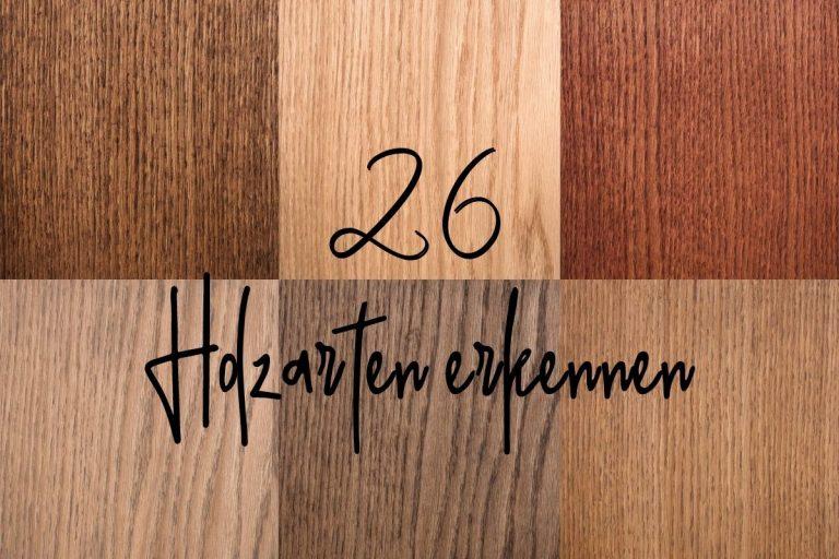 Holzarten - Titel