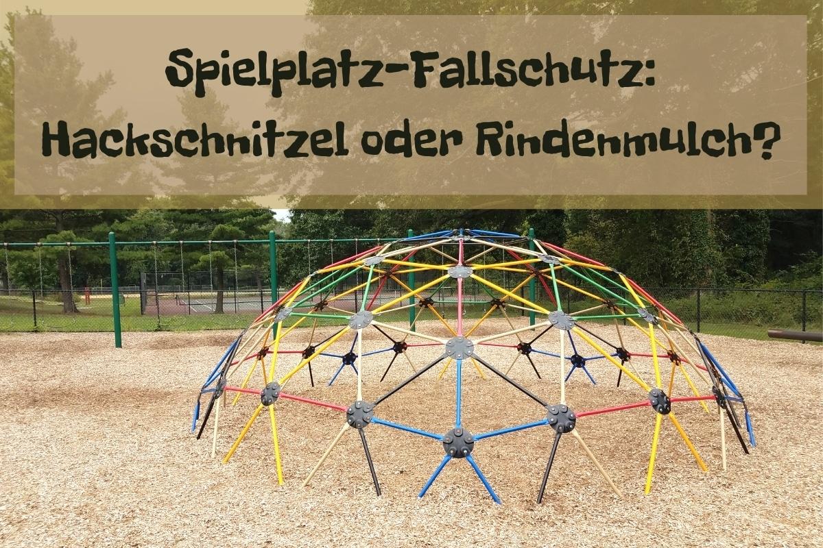 Spielplatz-Fallschutz - Titel