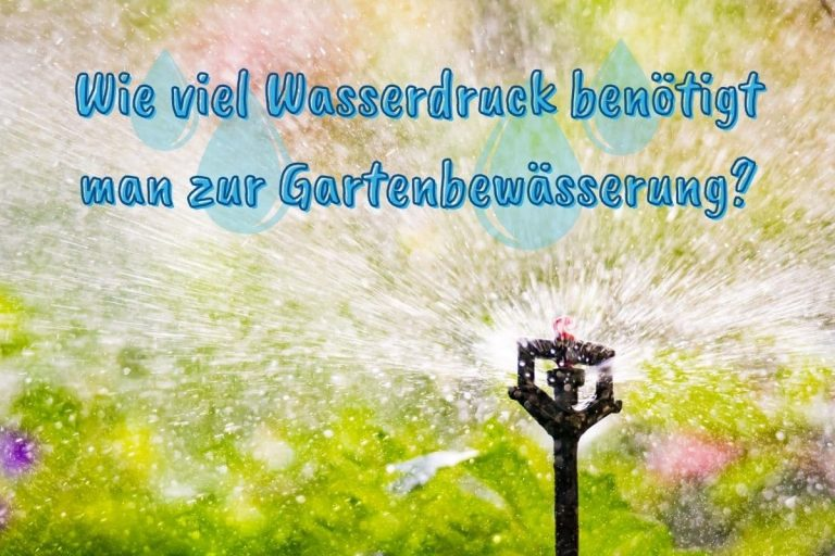 Gartenbewässerung - Titel