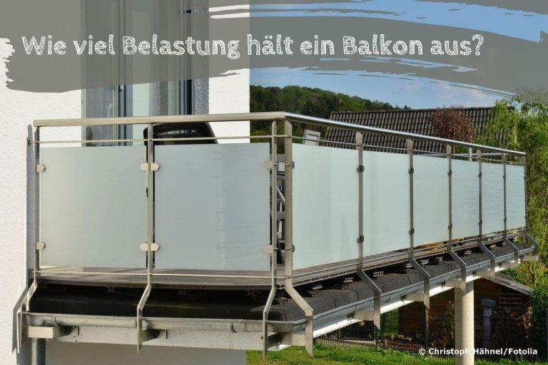 Traglast Balkon - Titel