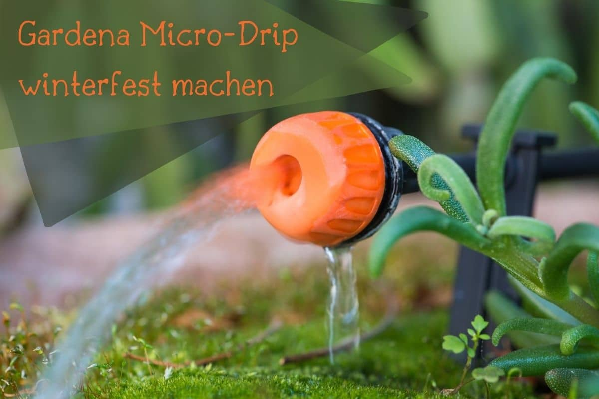 Gardena Micro-Drip winterfest - Titel