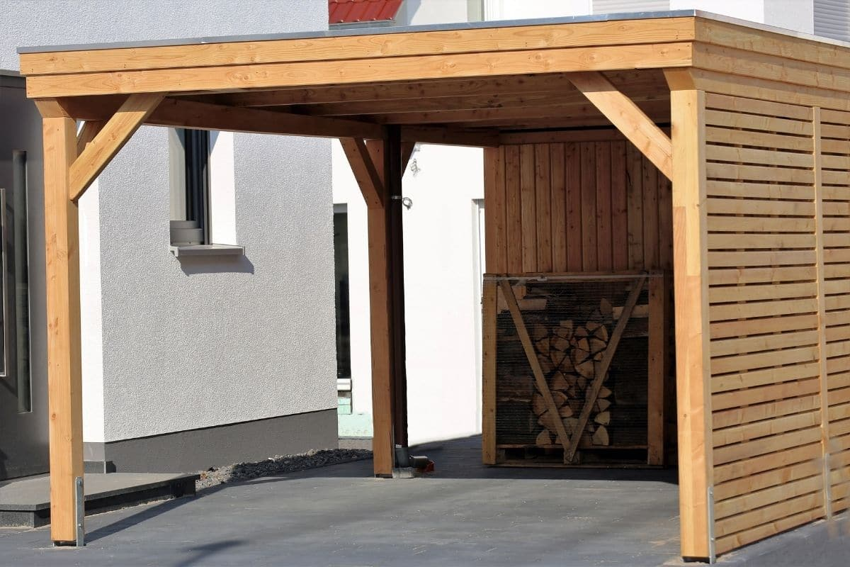 Ein Carport als Parkplatz-Alternative