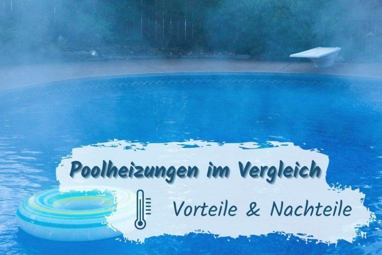 Mit Poolbeheizung beheizter Pool