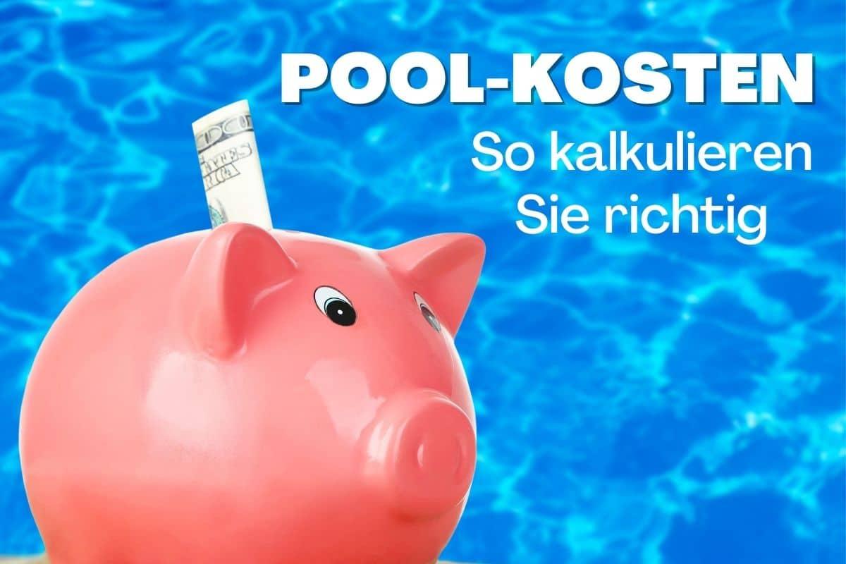 Sparschwein mit Pool