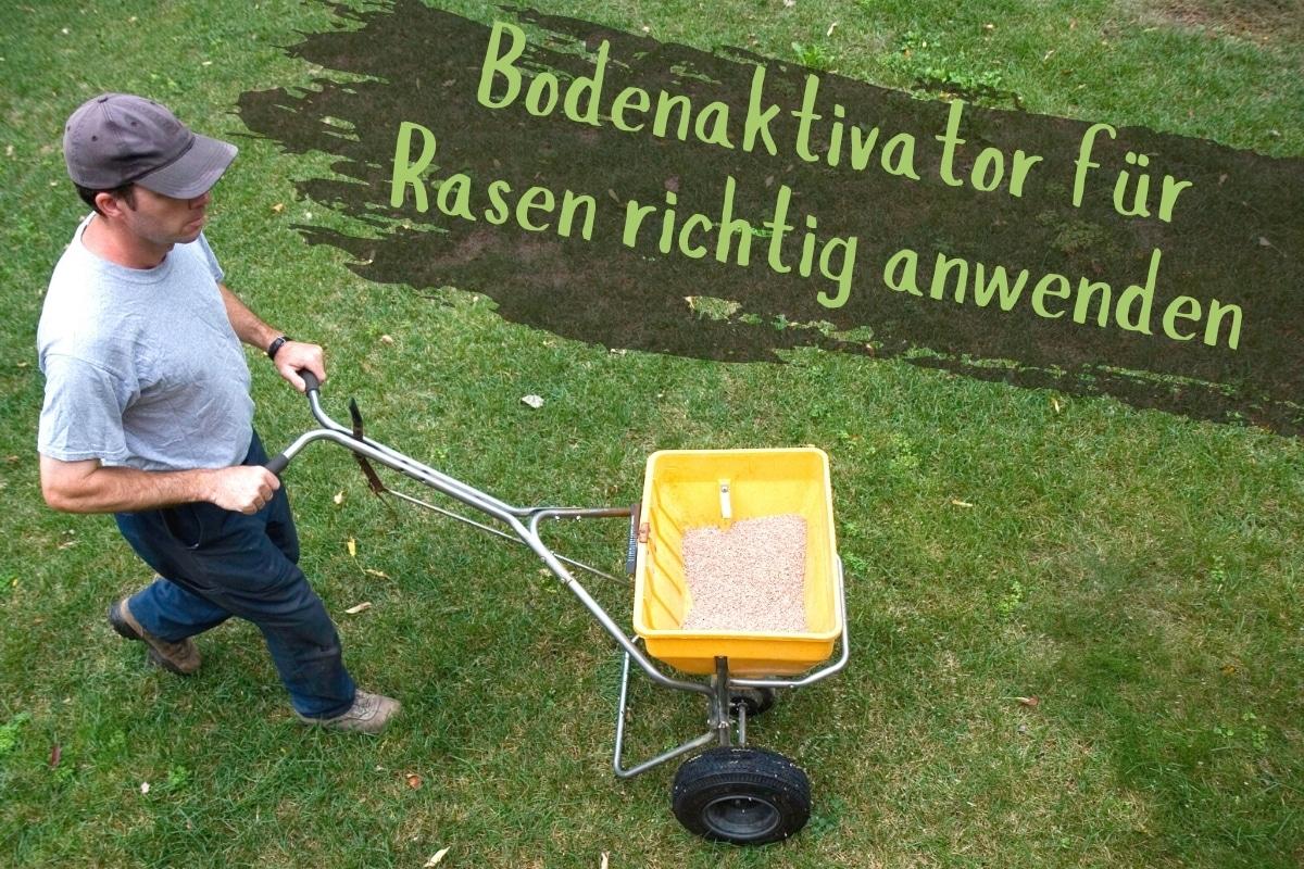 Bodenaktivator für den Rasen - Titel