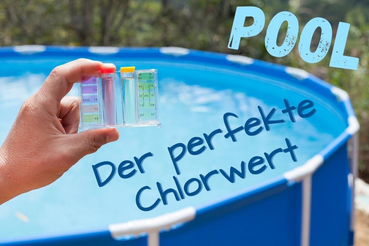 Chlorwert im Pool - Titel
