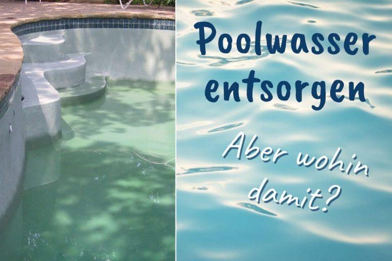 Poolwasser entsorgen - Titel