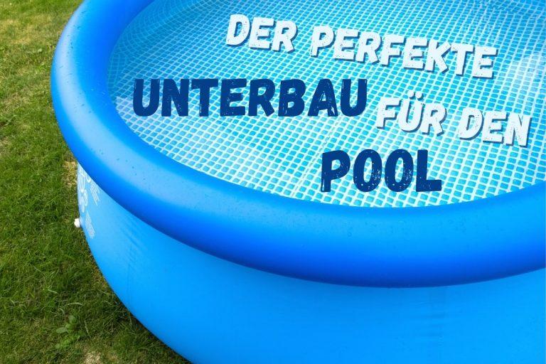Unterbau Pool - Titel