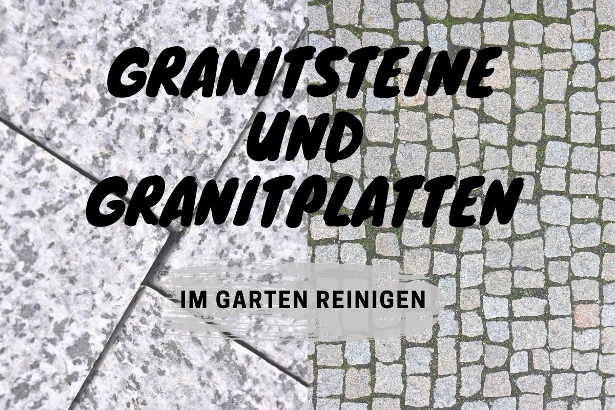 Granitsteine und Granitplatten - Titelbild