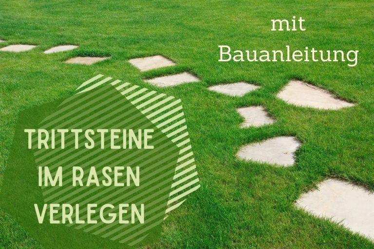 Trittsteine im Rasen - Titel