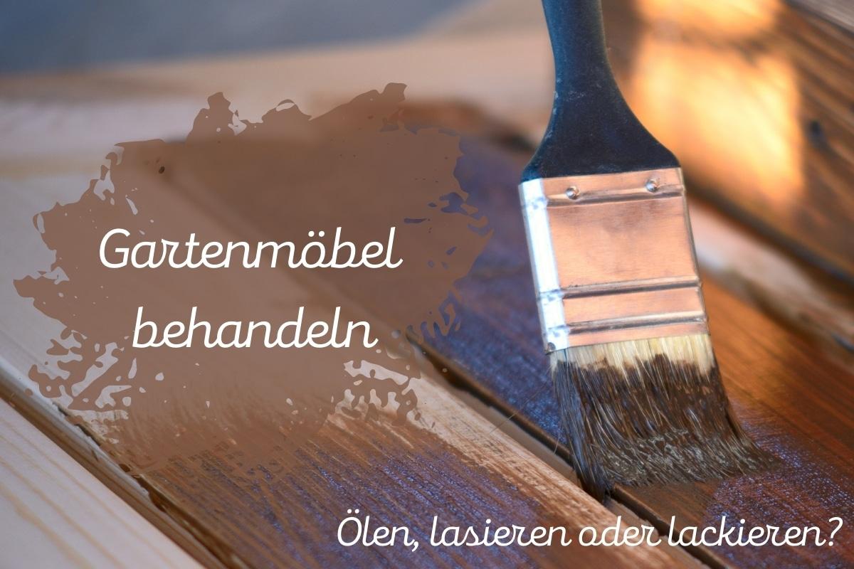 Wie Gartenmöbel behandeln: ölen, lasieren oder lackieren? Titelbild
