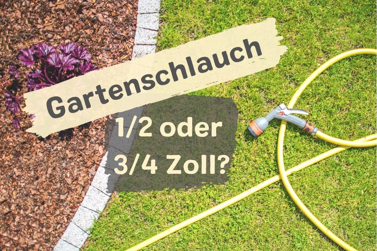 Welchen Zoll beim Gartenschlauch wählen?
