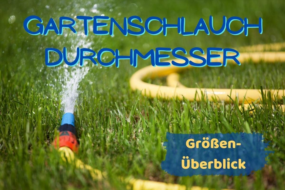 Durchmesser Gartenschlauch - Titel