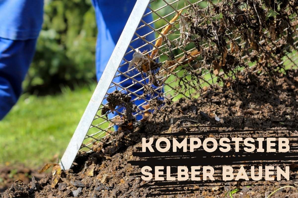 Kompostsieb bauen - Titel