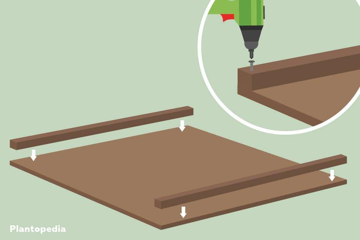 Schritt 4: Vierkantenhölzer - Grafik Julia