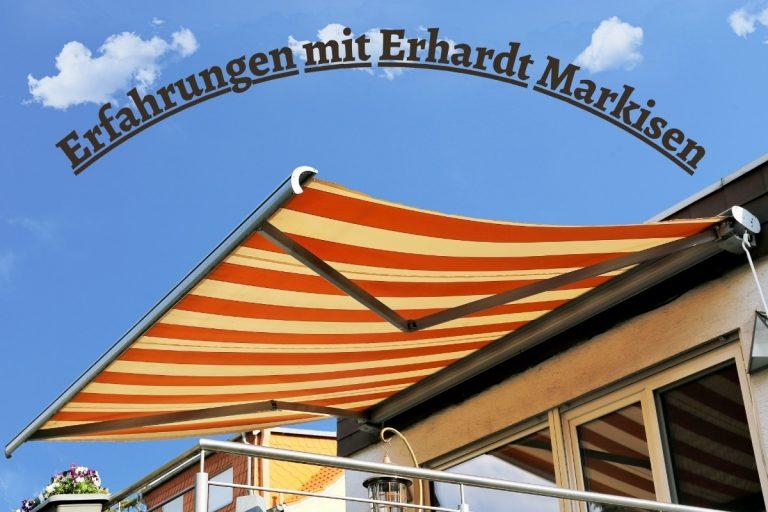 Erfahrungen Erhardt Markisen - Titel