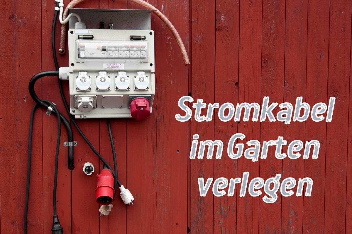 Stromkabel verlegen - Titel