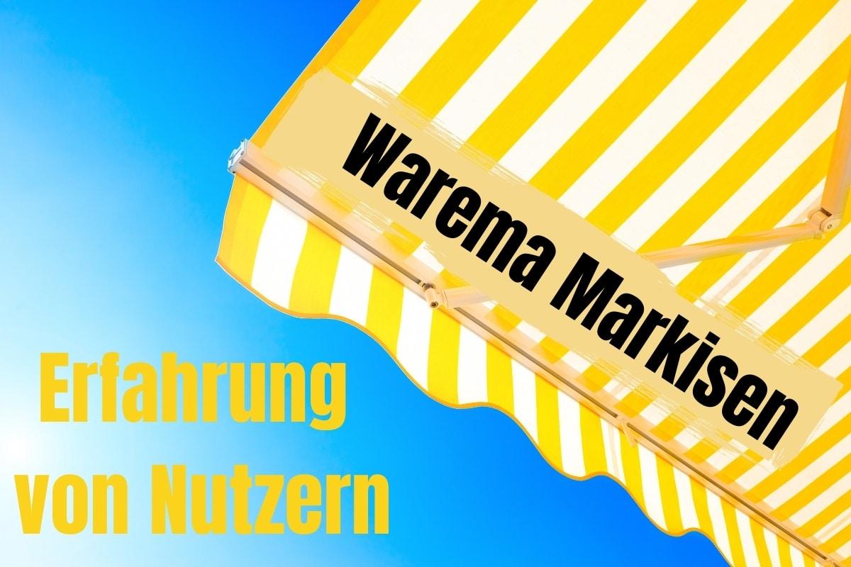 Erfahrungen zu Warema Markisen
