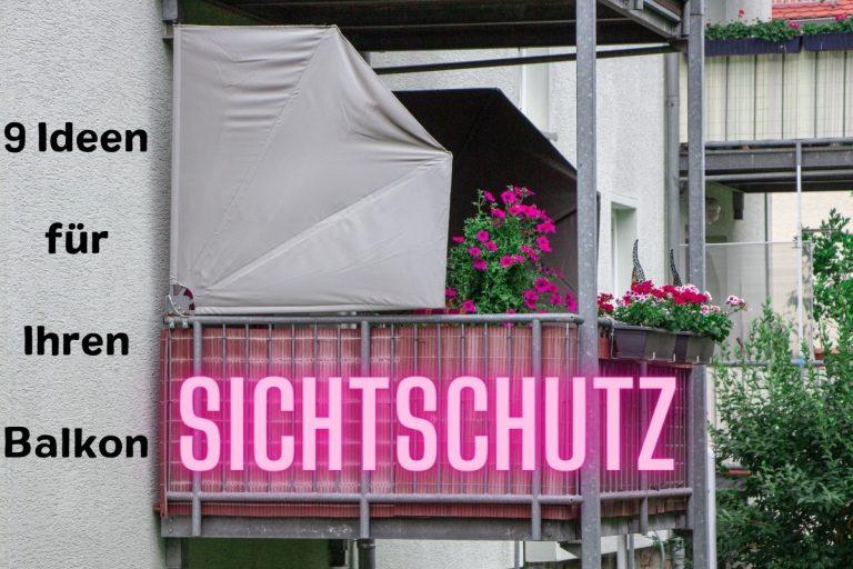 Balkon: 9 Ideen zum Sichtschutz - Titelbild