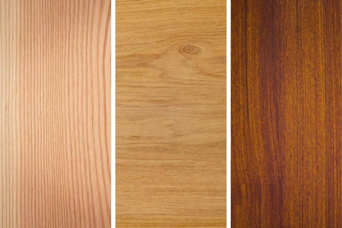 Holzarten zum Bau