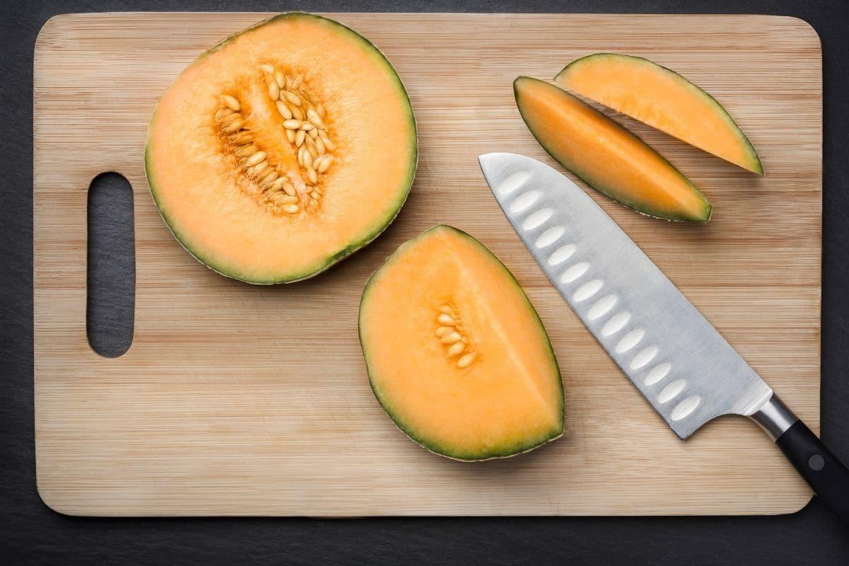 Zuckermelone (Cucumis melo)