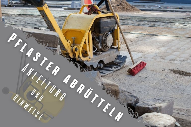 Pflaster abrütteln: Anleitung & Hinweise- Titelbild