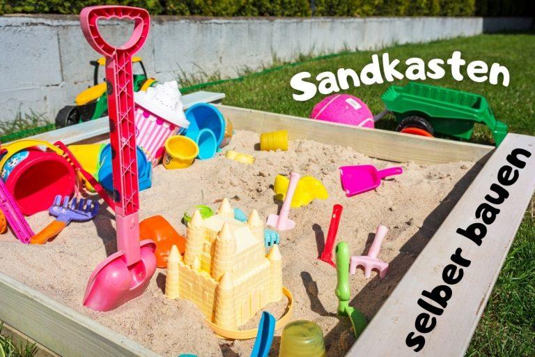 Anleitung: Sandkasten in 6 Schritten selber bauen - Titelbild
