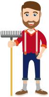 Das ist Gärtner Harry